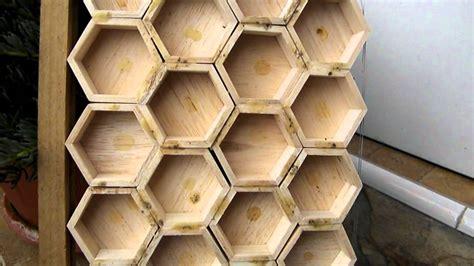 como hacer un panal de abejas miel de abeja en moldes de palo de balsa youtube