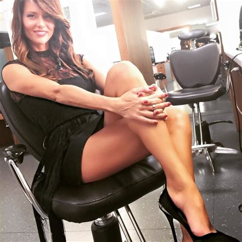 celebrity dresm feet picture of barbara pedrotti