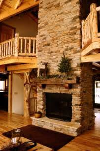 log cabin with fireplace pin by barrios on house stuff