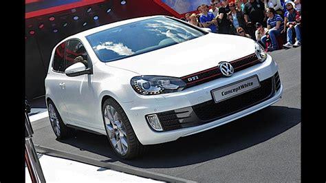 volkswagen gti concept volkswagen golf gti concept white