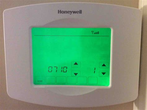 honeywell wifi thermostat manual rth8580wf