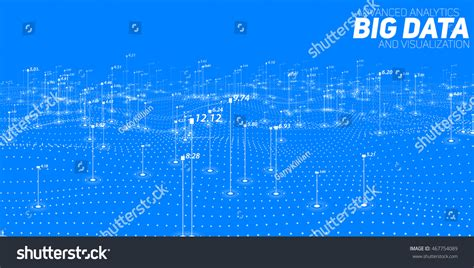 design criteria in big data big data visualization futuristic infographic information