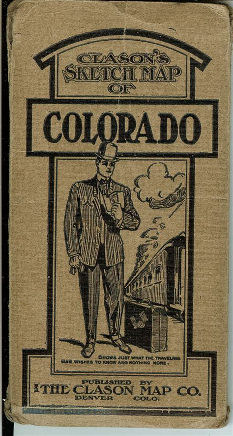 across the san juan mountains classic reprint books colorado pocket maps clason map company and other