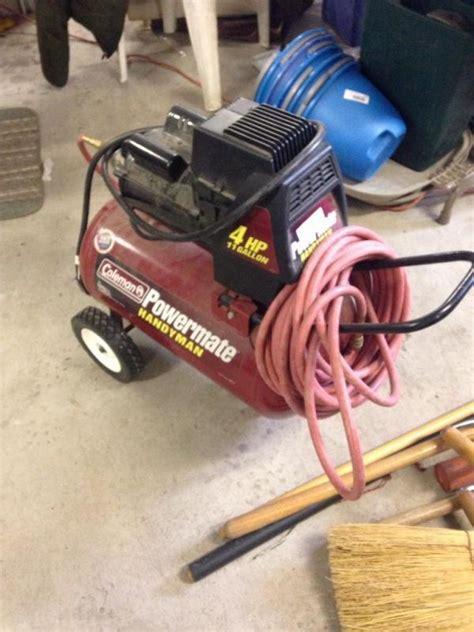 coleman power mate handyman  hp  gallon air compressor current price