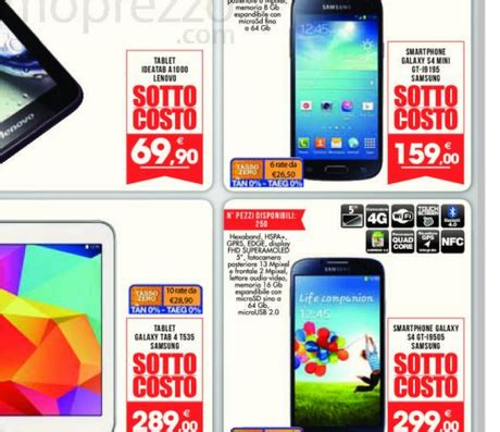 Mini 4 Promo M E promozione samsung galaxy s4 mini a 159 galaxy s4 a