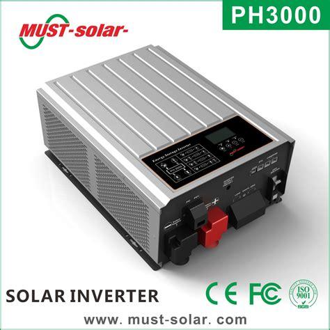 home solar inverter ph3000 series energy storage power inverter hybrid home solar inverter 4kw solar power system