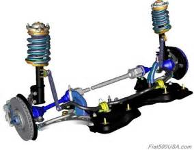 Fiat 500 Abarth Suspension Upgrades Fiat 500x Suspension And Chassis Fiat 500 Usa
