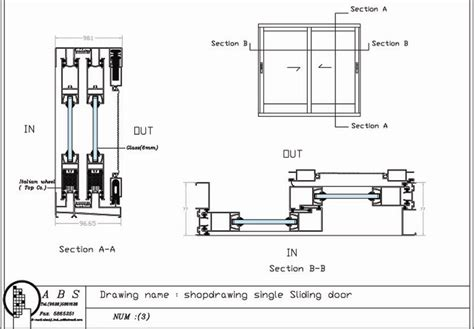 door section dwg sliding door section dwg saudireiki