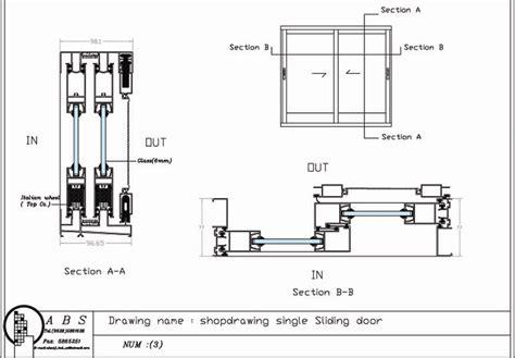 Door Section Dwg by Door Details Dwg Jansen Economy 50 Fingerschutzt 252 Re Quot Quot Sc