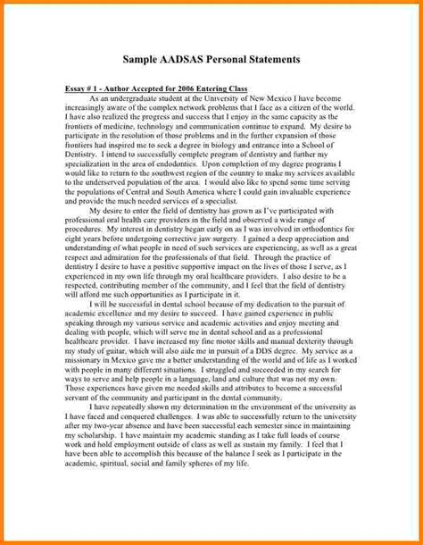 Eras Personal Statement by 11 Sle Eras Personal Statements Statement 2017