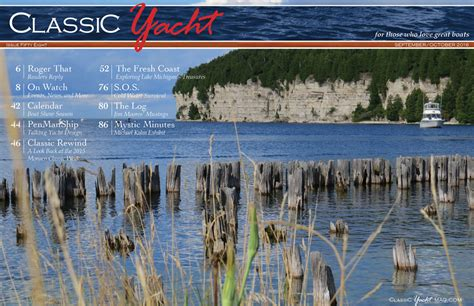 In This Issue by Classic Yacht Magazine In This Issue