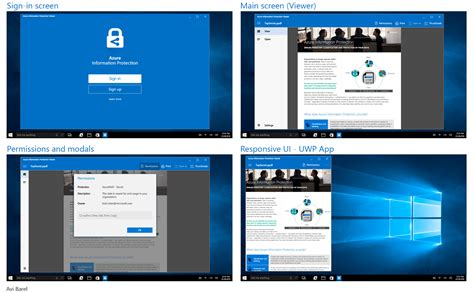 Home Design App Windows Microsoft Azure Information Protection App Avi Barel