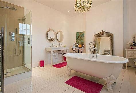 red wall bathroom girls bathroom accessories round shape pedestal bath sink