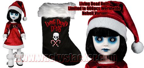 frozen living dead doll mint living dead dolls xero jason voorhees beast hansel