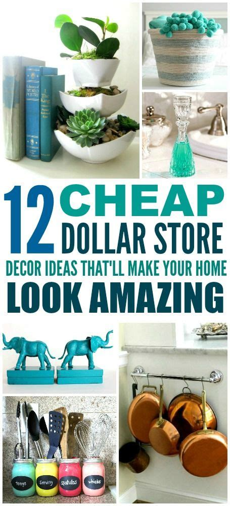 Easy Cheap Diy Home Decor 12 Cheap And Easy Dollar Store Decor Hacks That Ll Make Your Home Look Amazing Dollar Stores