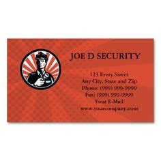 security officer card template 1000 images about security guard business cards on