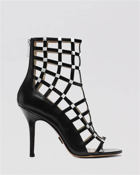 michael kors high heel sandals michael kors open toe caged sandals cora high heel in