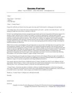 Job Search Networking Cover Letter