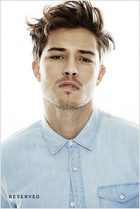 chicos bruinette model francisco lachowski for reserved spring summer 2015