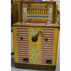 100 Floors Clover - 5 cent bally clover bell floor console slot machine