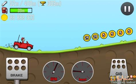 game hd mod for android hill climb racing hd mod full coins gems cho android