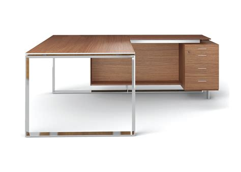 office desk with return zenon italian executive office desk
