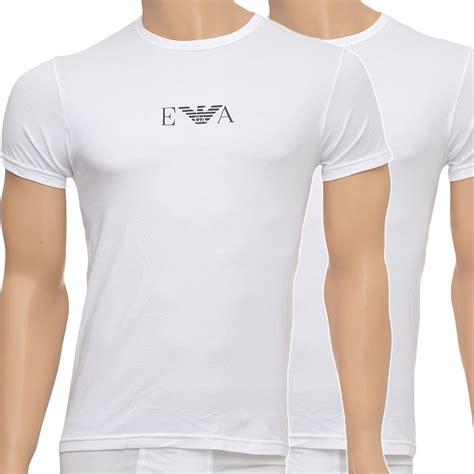 Tshirt Giorgio Armani Dealldo Merch emporio armani stretch bi pack crew neck t shirt white armani t shirt