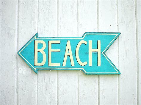beach signs home decor country cottage and rustic furnishings by twigs2whirligigs beach sign