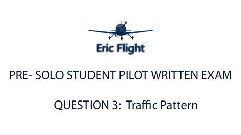 traffic pattern youtube private pilot pre solo written exam question 3 traffic