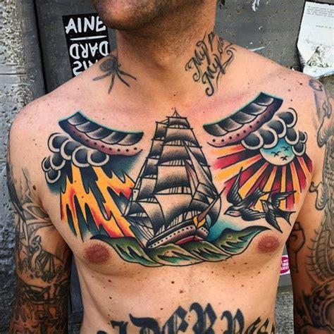 tattoo chest hold healed boldwillhold tattoo samuelebriganti