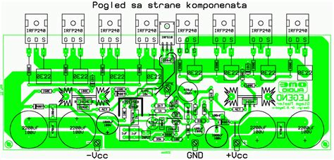 Power Lifier Stage Master T8ns 250w rms power lifier legend stage master circuit schematic