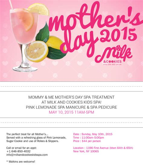 s day singles events milk and cookies spa s day event