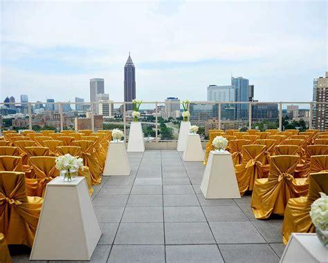 outdoor wedding venues near atlanta ga ventanas rooftop venue wedding venue in atlanta ga