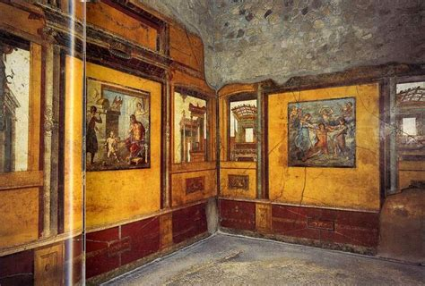 house of the vettii 317 roman architecture fourth style wall painting c 20 ad to c 79 ad wall