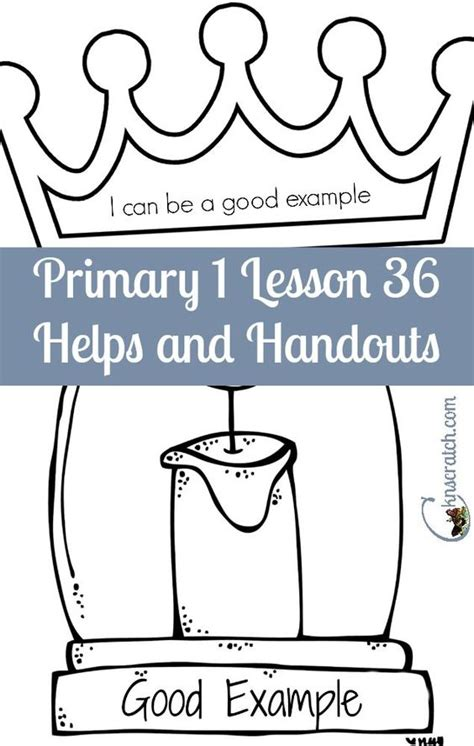 lds coloring pages i can be a good exle primary 1 lesson 36 i can be a good exle lds and