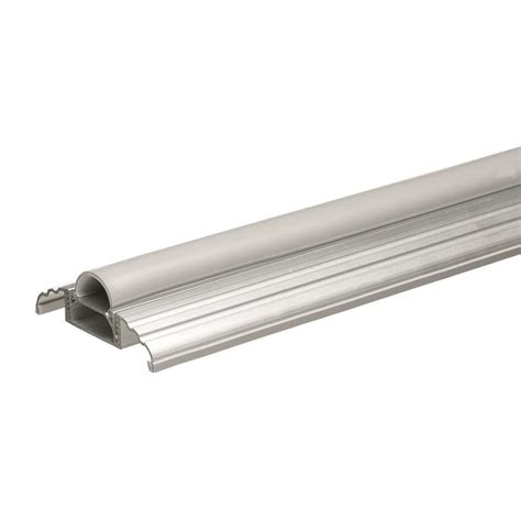 Shop Frost King 3 1 2 X 1 1 8 To 1 9 16 X 36 Silver Metal Exterior Aluminum Door Threshold