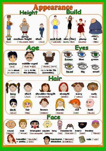 imagenes de ingles adjetivos adjetivos para describir personas en ingl 233 s eli