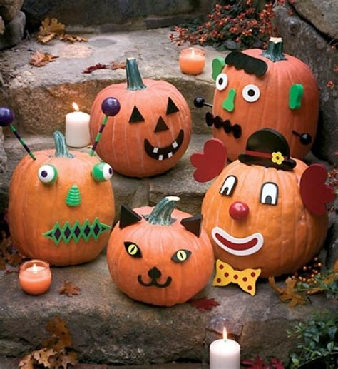 Pumpkin Decorating Ideas Without Carving 8 easy pumpkin ideas without carving
