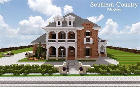 country mansion southern country mansion minecraft house design