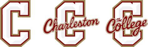 college of charleston colors athletics logo system college of charleston