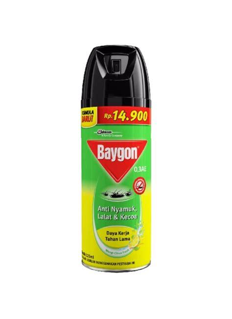 Baygon Citrus baygon insektisida spray yellow ctrus fresh klg 225ml