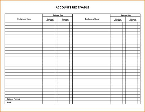 Account Ledger Template Exle Mughals Sle Accounting Ledger Template