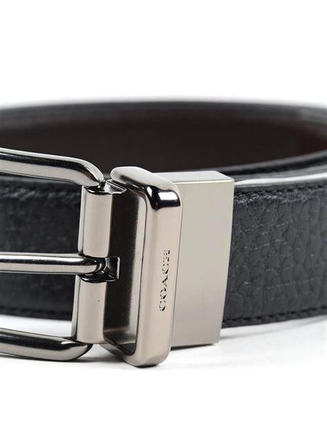 Coach Belt grainy leather reversible belt by coach belts ikrix