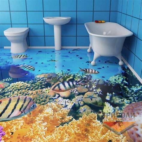 epoxy badezimmerboden bathroom 3d floor design interiors