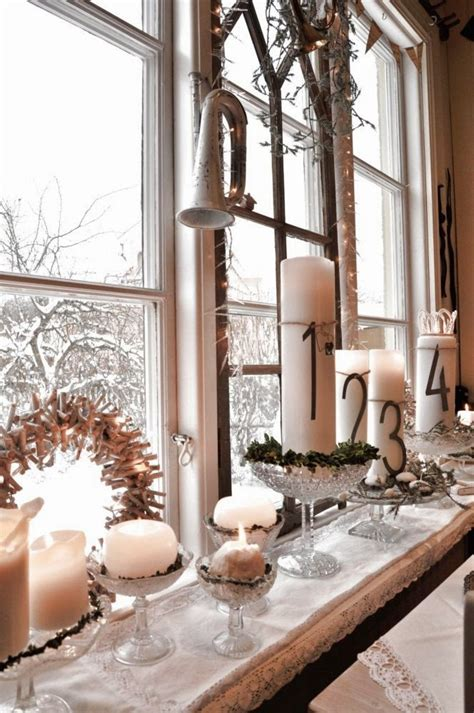 window sill christmas decorations add cheer to your windows by decorating them for