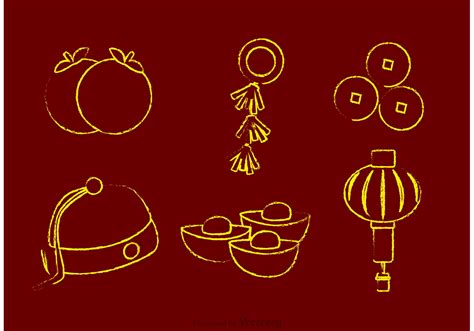 new year ram vector chalk lunar new year vectors free