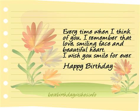 My Wish For You And Yes Happy Birthday Birthday Wishes For Him Best Birthday Wishes