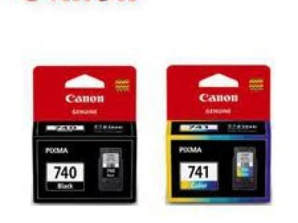 Carthridge Canon 741 Colour canon pg 740 741 ink cartridge black color 1set heng computer center