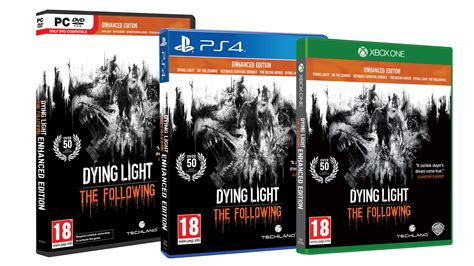 Dying Light Xbox One Dying Light The Following Enhanced Pc Ps4 Xo Edition