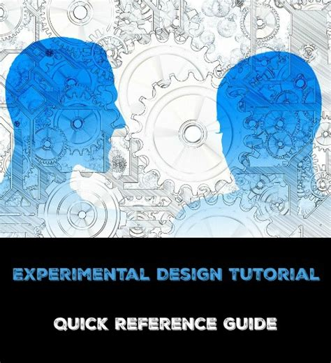 experimental design reference experimental design tutorial quick reference guide